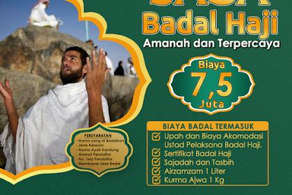 Paket Badal Haji 2019