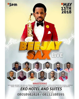 Lagos Are You Ready? Beejay Sax Live It's Here Again!