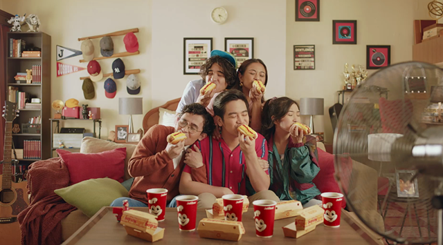 Joshua Garcia returns in this new Cheesy Classic Jolly Hotdog commercial
