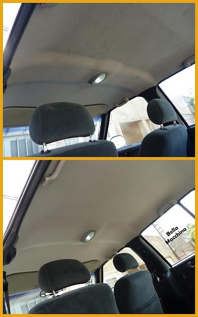 limpiar techo del interior