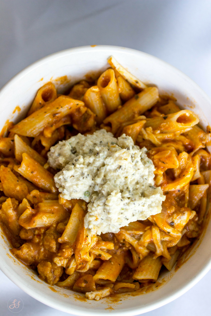 One Pot Lasagna Pasta - Gluten Free and Vegan!