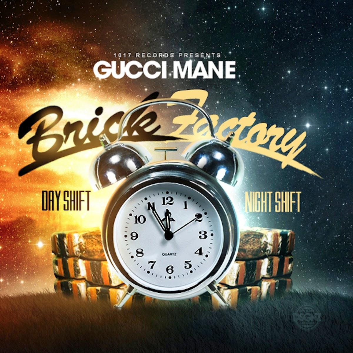 Gucci Mane - Brick Factory Vol 2 Cover