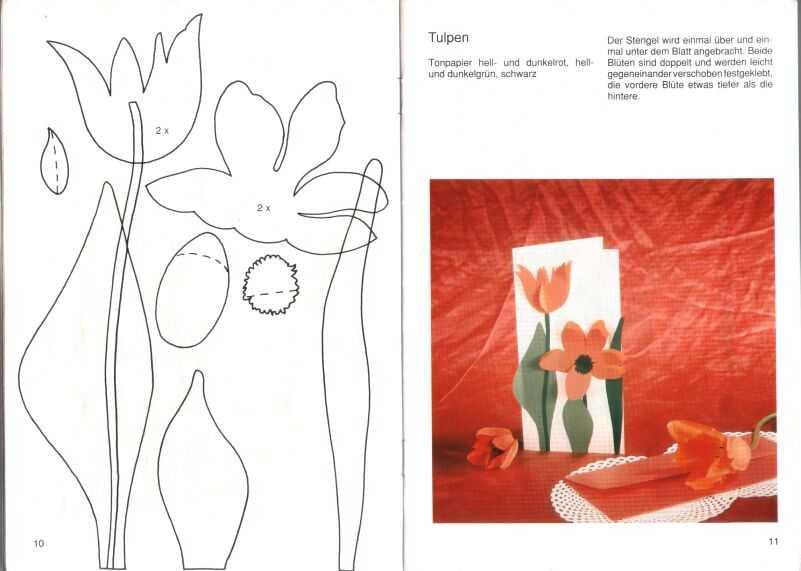 tarjetas, postales, origami, papel, correo, felicitar