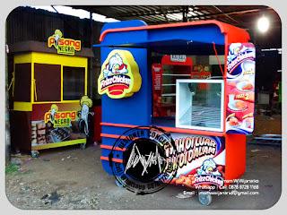 produksi gerobak fried chicken frizz