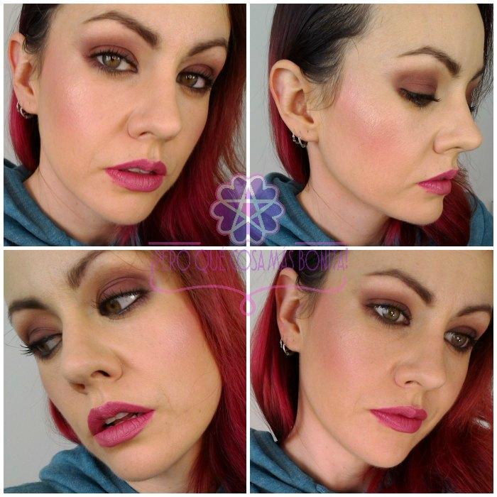 Maquillaje Granate