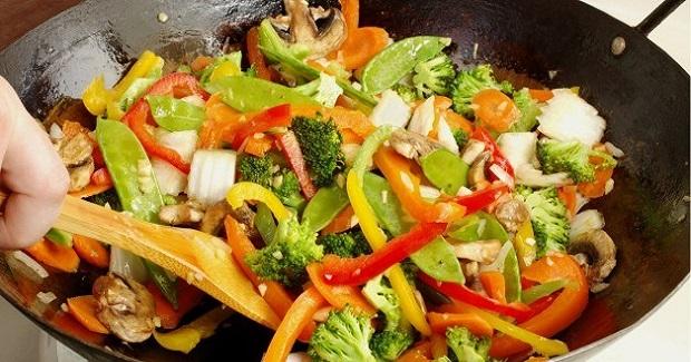 Stir Fried Asian Vegetables Recipe
