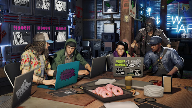 Ya disponibles las funciones multijugador de Watch Dogs 2