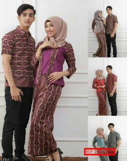 busana muslim couple keluarga