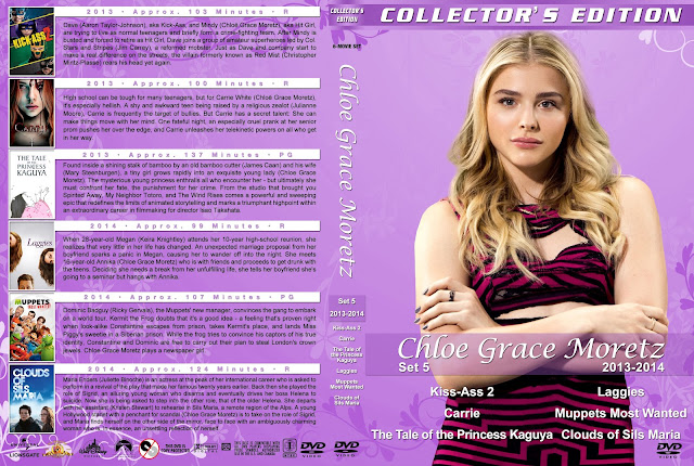 Chloe Grace Moretz Collection Set 5 DVD Cover