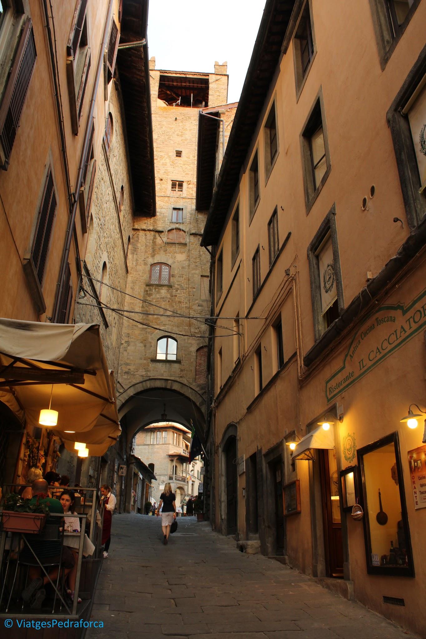 Cortona, Arezzo, etruscs, Edat Mitjana, Toscana, Itàlia
