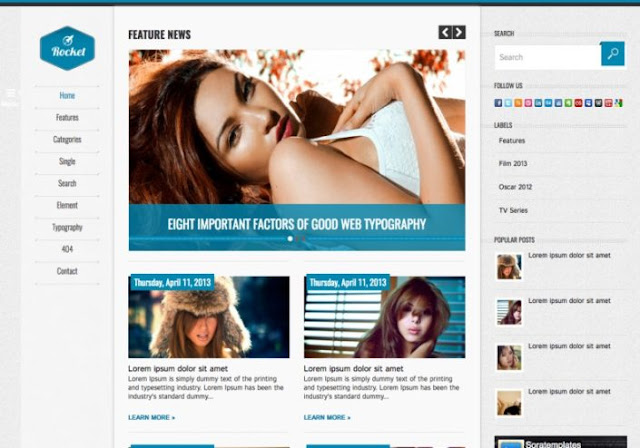 Free Blogger Template