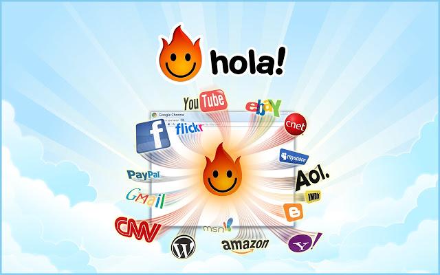 شرح + تحميل اضافة هولا للفايرفوكس [ تغيير الاي بي مجانا ] - اضافة HOLA VPN