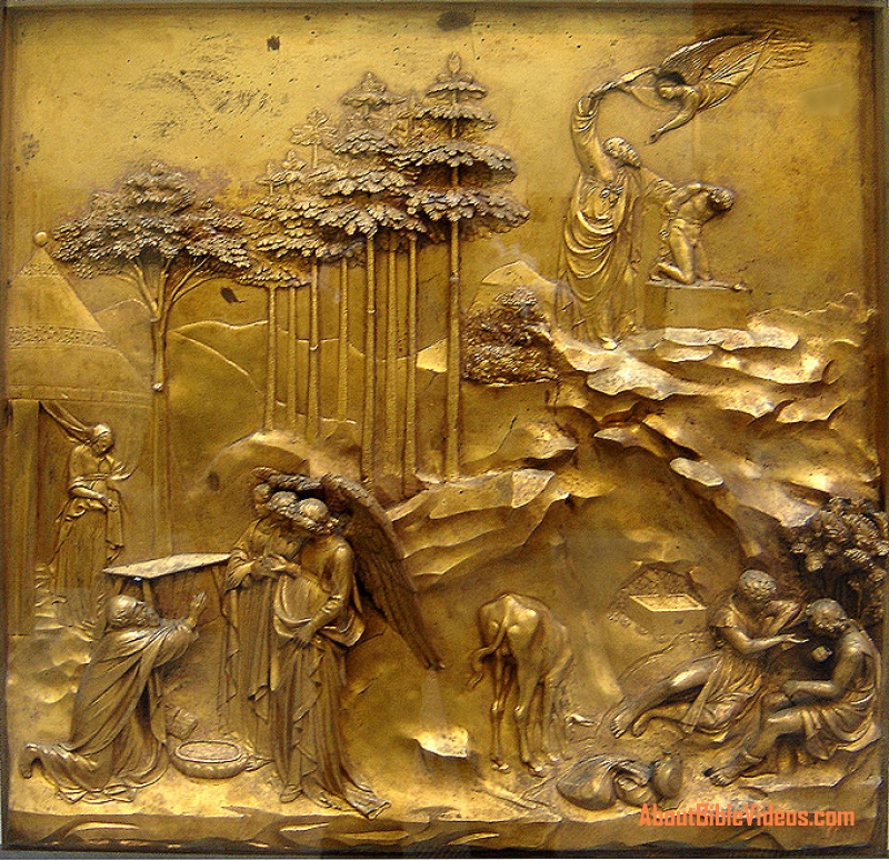 SCULPTURE Lorenzo Ghiberti  ART FOR YOUR WALLPAPER