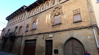 Sangüesa. Palacio de Añués y  Palacio de Íñiguez-Abarca.