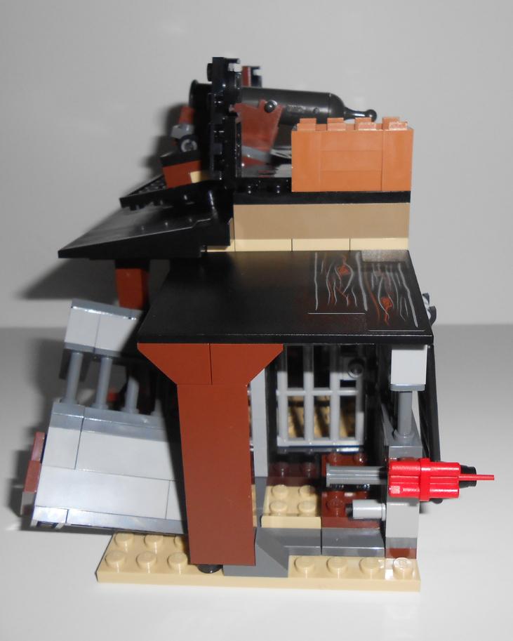 Oz Brick Nation The Lone Ranger Lego 79109 Colby City