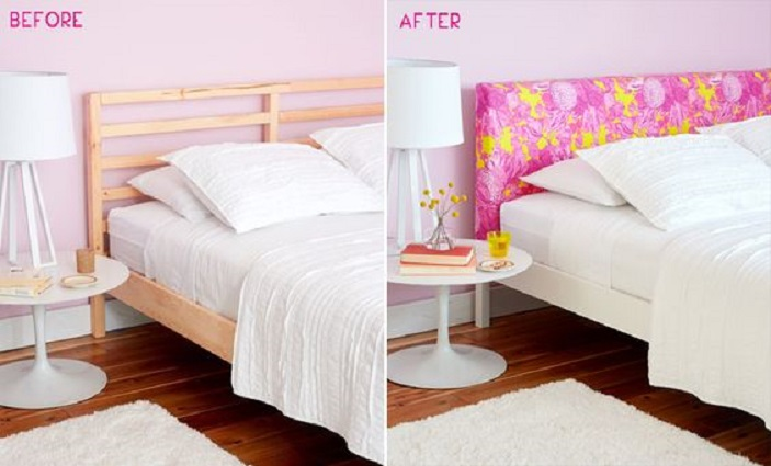 Capa para cabeceira de cama pode renovar seu quarto