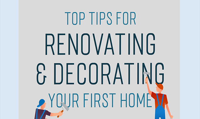 Tips For Renovating & Decorating Your First Home