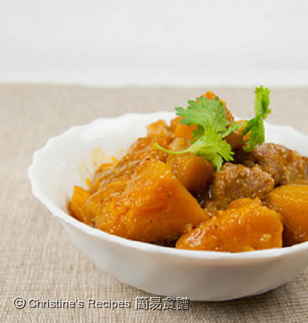 南瓜炆排骨 Braised Pork Ribs with Pumpkin02