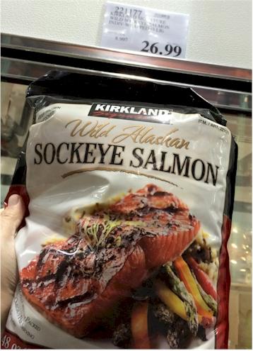 how to prepare frozen sockeye salmon