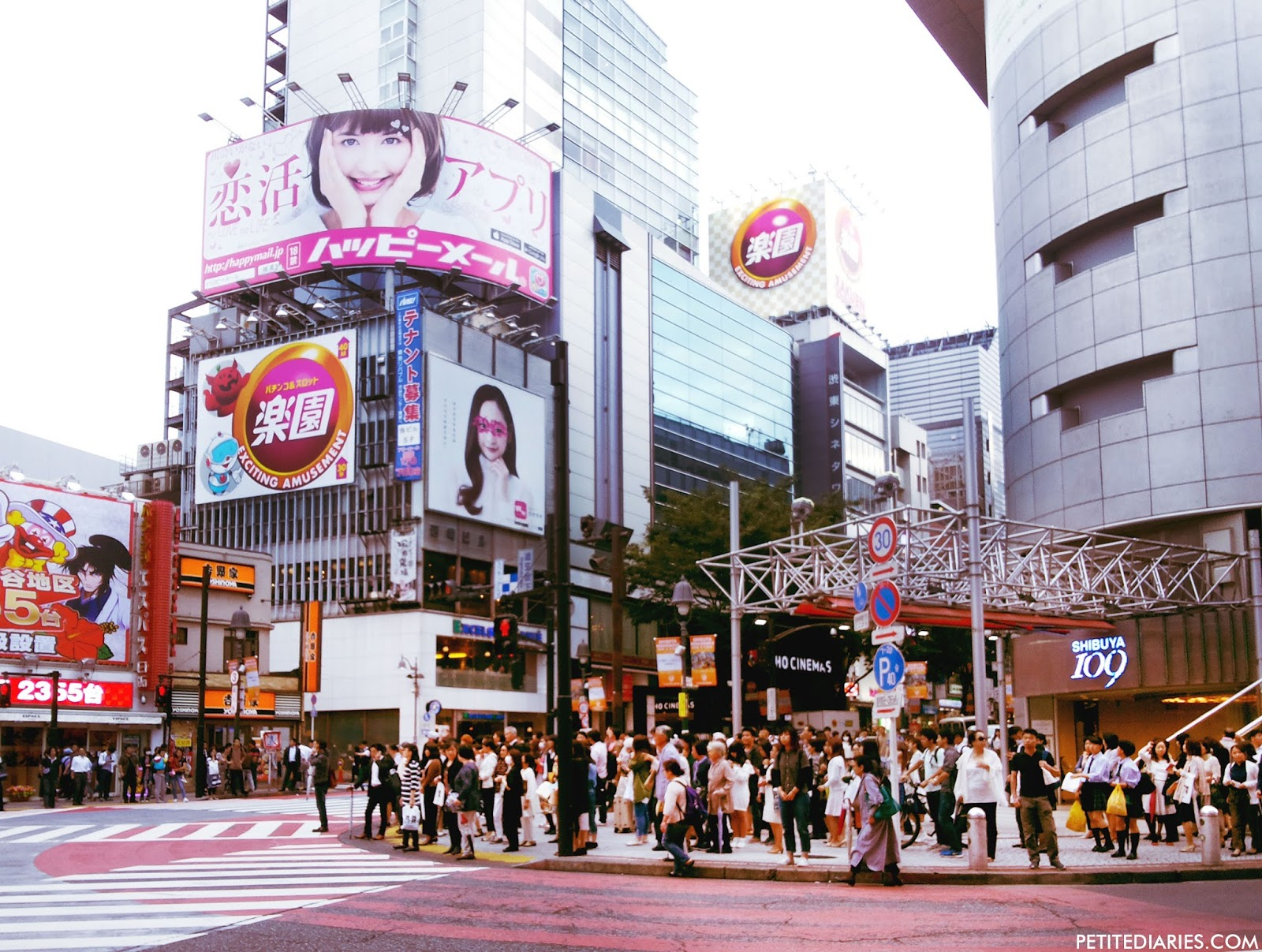 shibuya crossing japan shopping travel experience