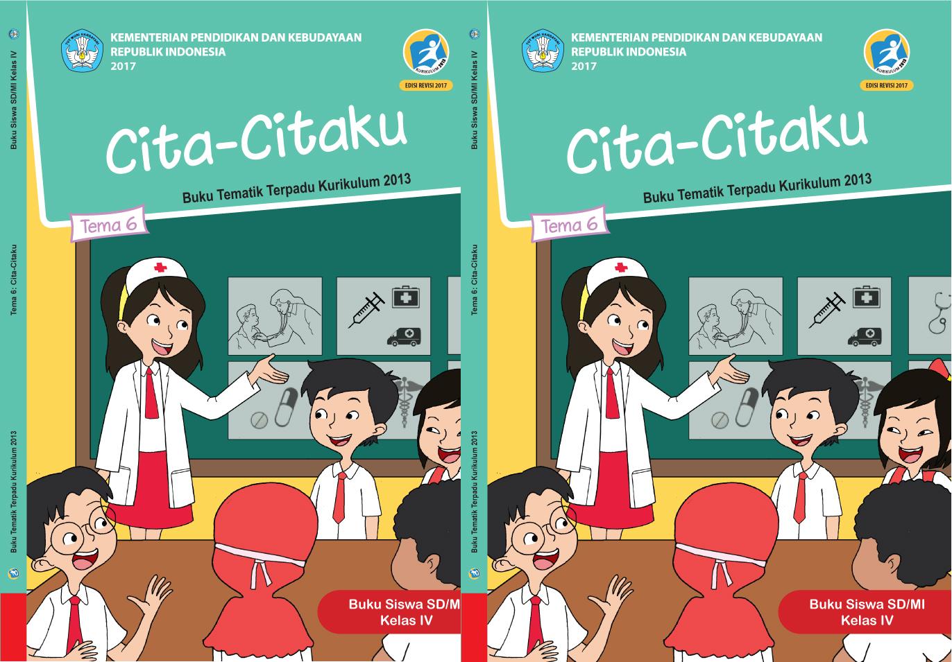 Buku Guru Pjok K 13 Kelas 4 Semester 2 Revisi 2017