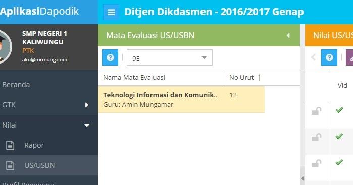Download Aplikasi Input Nilai Di Dapodik Mudah Dan Cepat Mr Mung Web Id