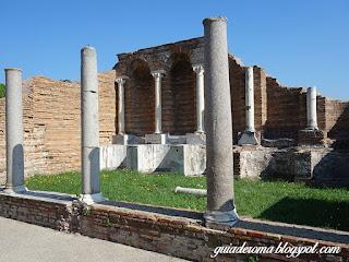 turismo personalizado roma  portugues guia - Ostia Antiga
