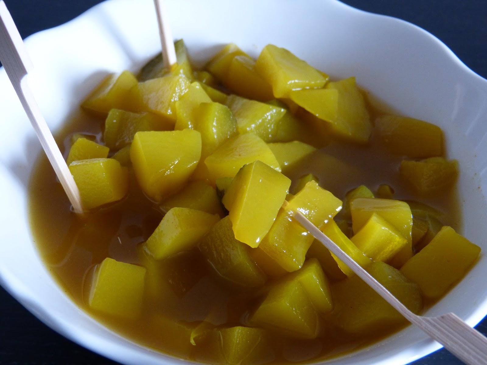 mamzelle cuisine pickles de courgettes au curry. Black Bedroom Furniture Sets. Home Design Ideas