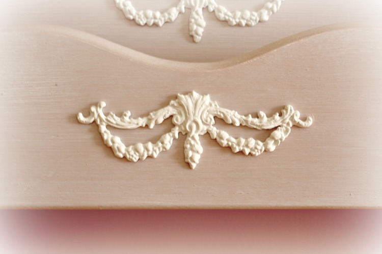 Handmade furniture applique