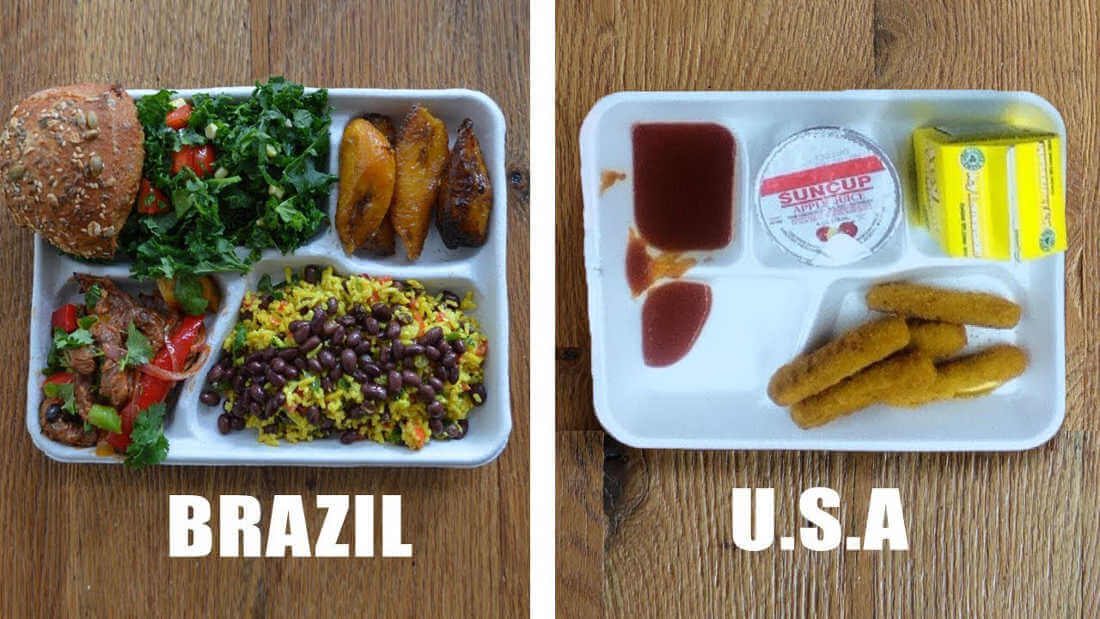 9 Pictures of Student Lunches Around The World