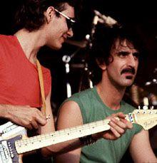 Steve Vai y Fran Zappa