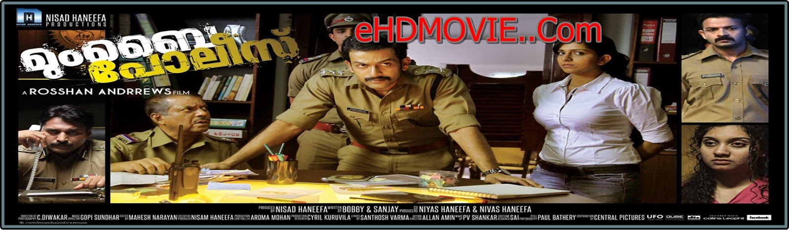 Mumbai Police 2013 Full Movie Malayalam 720p - 480p ORG BRRip 300MB - 900MB ESubs Free Download