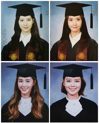 snsd graduation pictures