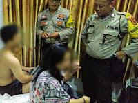 Oknum Polisi Ini Digerebek Istri Bersama Bayinya di Hotel Lagi Ena-ena Sama Cewek Lain..