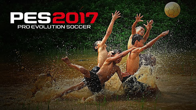PES 2017 Start Screen Sepakbola Sawah by Imam Robani