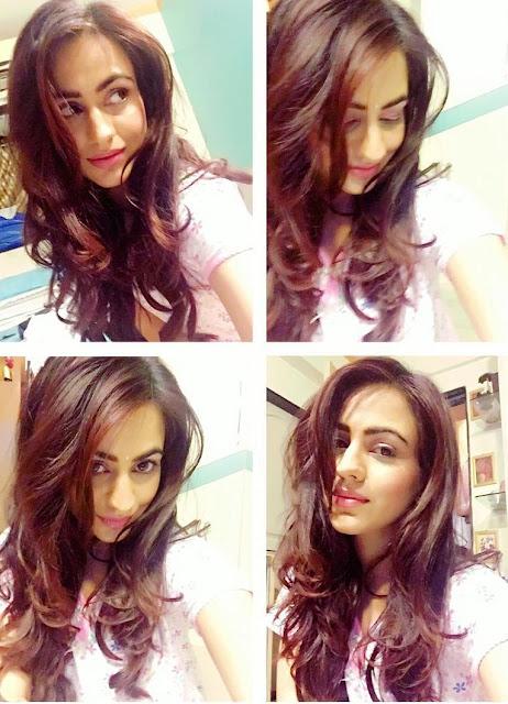 Aksha Pardasany Selfies on Instagram
