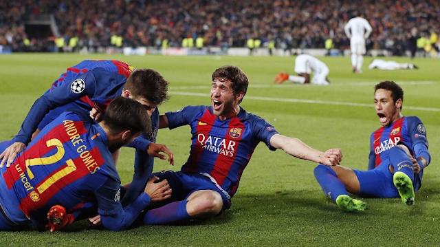 FC Barcelona, Sergi Roberto, Neymar, Messi, Suárez, remontada, hazaña, PSG, Champions League