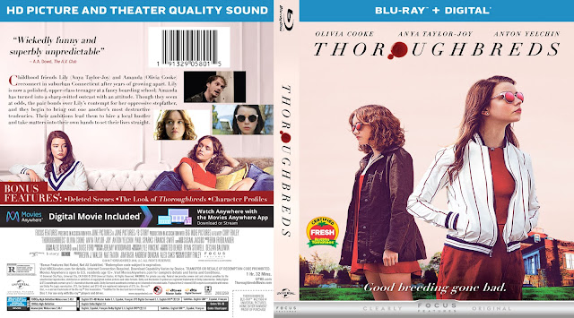 Thoroughbreds Bluray Cover