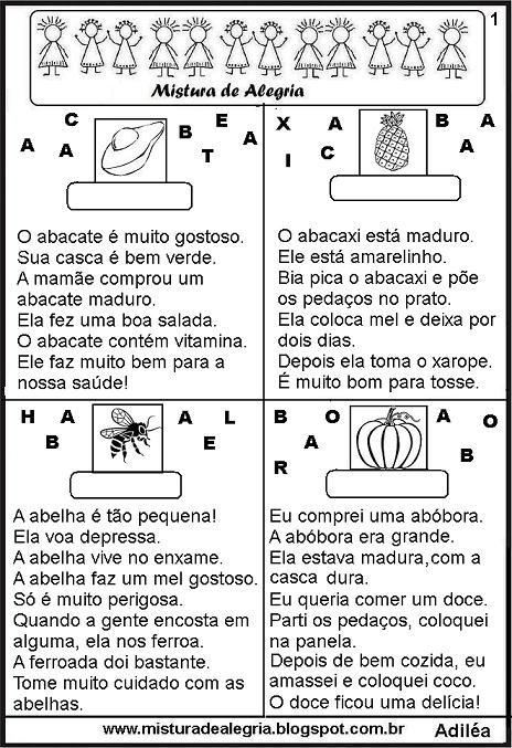 Alfabetização Cefapro Pontes E Lacerdamt Cartilha De Leitura
