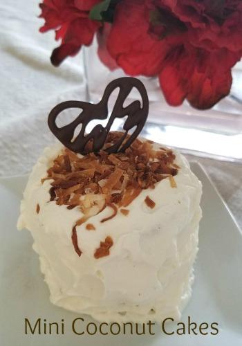 coconut cakes valentine