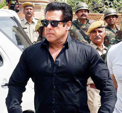 Salman Khan at the Jodhpur court