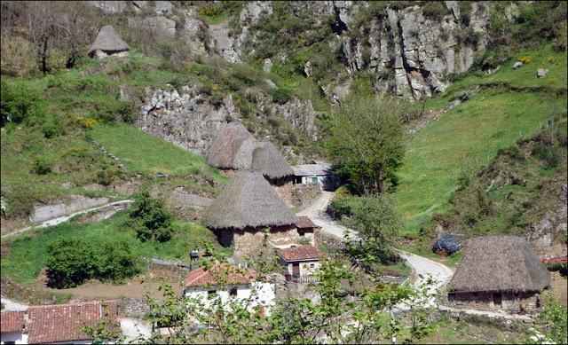 Cabañas de teito, Asturias
