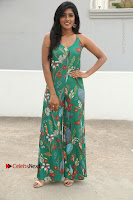 Actress Eesha Latest Pos in Green Floral Jumpsuit at Darshakudu Movie Teaser Launch .COM 0020.JPG