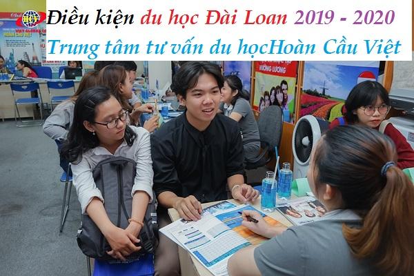 Điều kiện du học Đài Loan 2019 - 2020