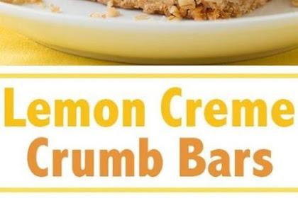 Lemon Creme Crumb Bars