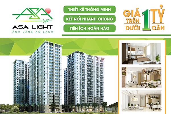 Thông tin đầy đủ về căn hộ asa light quận 8
