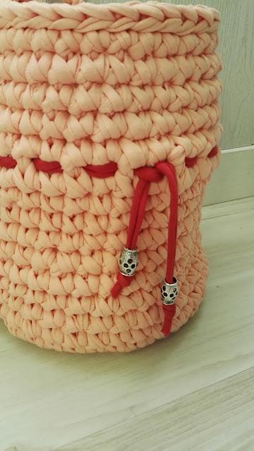 cesta trapillo para el pan detalle adorno