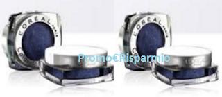 Logo Ombretto L'Oreal: 400 prodotti pronti da testare