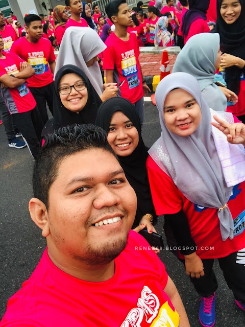 Lipis Fun Run 2018, World Sight Day 2018