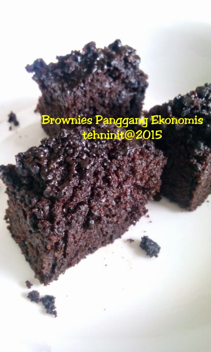 Brownies Panggang Ekonomis Low Budget Kitchen